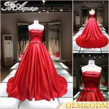 Alibaba China nupcial bridesmai boda vestidos de las mujeres nuevas llegadas damas de la tarde vestido de moda caliente más tamaño damas vestido de novia