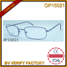 Hot Sale Simple Frame Optical Glasses (OP15021)