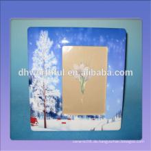 Heiße verkaufende keramische Bilderrahmen mit Schneelandschaftsmalerei