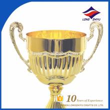 Уникальная промо-Оптовая продажа золото металлические чашки трофей высокая-конец металл трофей Кубок кубков