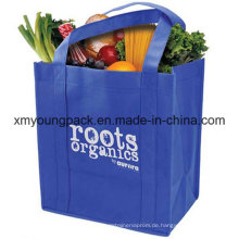 Extra große kundenspezifische nicht gesponnene wiederverwendbare Lebensmittelgeschäft-Einkaufstaschen
