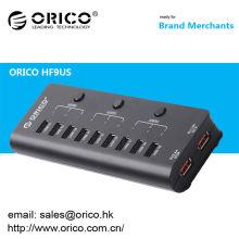 ORICO HF9US 9 portas USB2.0 HUB com 2 portas de carregamento