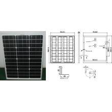 Модуль 18В 50Вт 45ВТ monocrystalline панель солнечных батарей PV с одобренный CE