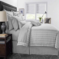 CVC 25/75 Hotel Damask Stripe Duvet Cover
