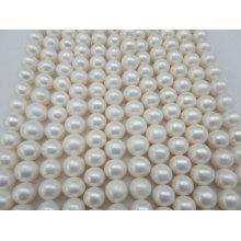 12-15mm Big Round Fresh Water Pearls Strands (ES382)