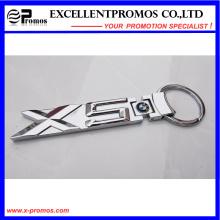 Chaveiro de metal personalizado para a corrente chave por atacado (EP-K58304)