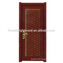 Newest Design HDF Moulded Melamine Door/Melamine Wooden Interior Doors