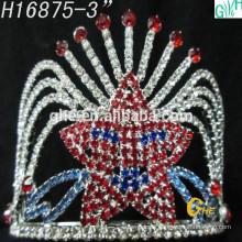 Mode schöne Krone Schönheit gefrorene Festzug Krone