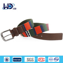 Stylish Men Casual Outdoor wear Belt with canvas