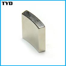 Grau N42 Sinterizado NdFeB Magnet Arc Shape