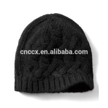 PK17ST042 Cashmere Blend Cable Stitch Winter Hat