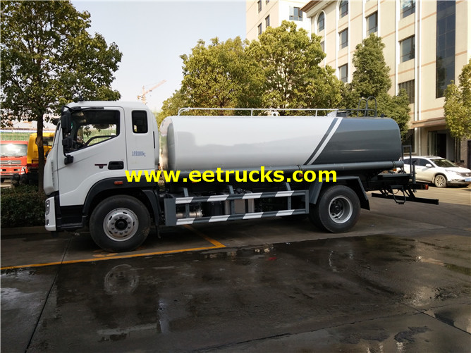 4000 Gallons Road Water Tank Vehicles