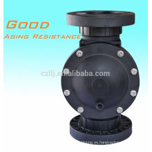 Válvula de solenoide reforzada de plástico Válvula de 2 vías de precio