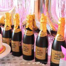 Nouveauté vente chaude article Champagne Confetti Shooter pour la célébration