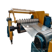 1800mm High speed cold rolled steel strips slitting line metal coil slitter with one-stop service