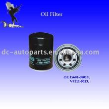 2012 filtro de óleo quente 15601-68010 da empilhadeira de Toyota da venda