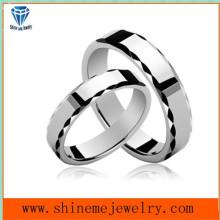Koreanische Paare Ring weiß überzogene heiße verkaufenringe