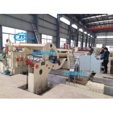 Высокоскоростная энергосберегающая холодная рулонная лента CrossCut To Length Line / Automatic PLC Hot Coil Sheet Cross Cut To Length Machine