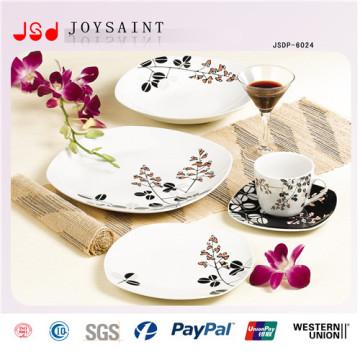 New Arrival Square Ceramic Dishware Set