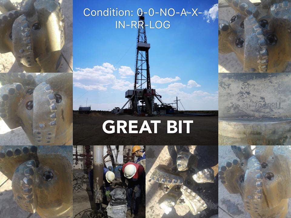 PDC bits drilling records