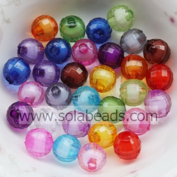 Ostern Dekoration 10mm farbig Runde Bubble Ball Imitation Swarovski Perlen