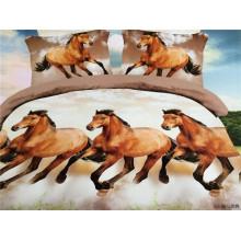 Beaucoup de chevaux courent des dessins housse de couette housse de lit housse de lit