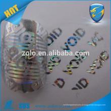 Design de novidades personalizado hologramas holgados para animais de estimação mais vendidos / hologramas de matriz personalizados