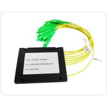 FTTH, multiplexeur de division de longueur d'onde de CATV DWDM