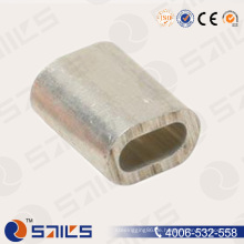 DIN3093 Aluminium Oval Drahtseil Hülse