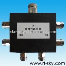 50W 670-2700MHz N-M N-F high power vhf rf Passive power Splitter