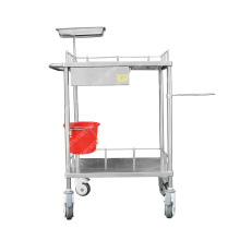 hospital Medical stainless steel instrument Trolley