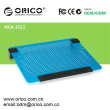 Todos los nuevos ventiladores duales Todo el cojín de enfriamiento del ordenador portátil 14inch de aluminio ORICO NCA1512 cojín de enfriamiento