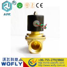 Válvula de solenóide de 2 vias Válvula de diafragma pneumático de 2 v