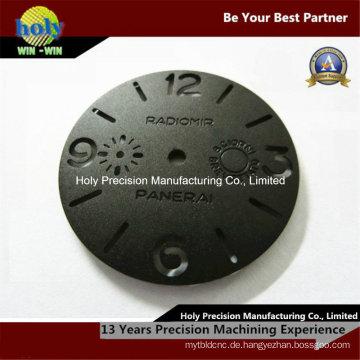 Custom CNC Aluminiumbearbeitung mit Gravur-Uhrengehäuse