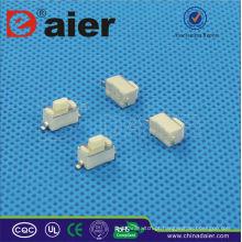 Daier KFC-003D 3 * 6 * 5 Botão Branco SMD 2 pinos Interruptor Tátil