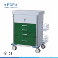 AG-GS008 New design nurse treatment for patient clinical emergency trolley