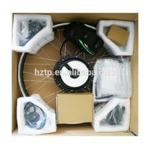 Moteur de moyeu de roue électrique 250W / 350W / 500W / 750W / 1000W avec le kit de conversion de câbles imperméables