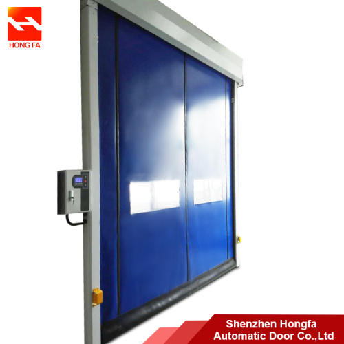 Plastic Auto-Recovery PVC Fast High Speed Shutter Door