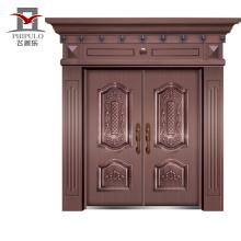 хороший дом прессованная панель стальная железная дверь кожа