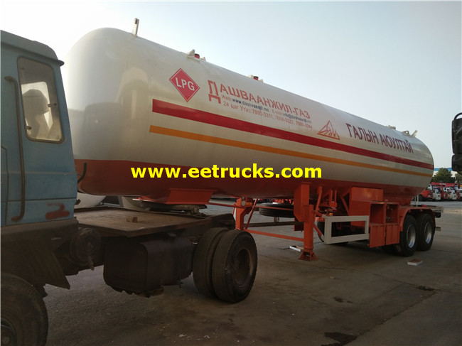 20MT Propane Gas Transportaion Trailers