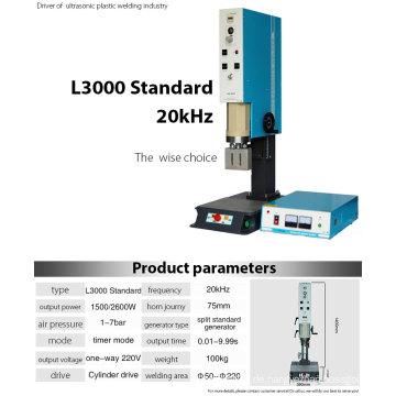 Thermoplastischer Ultraschall-Schweißer von 1500W, 20k