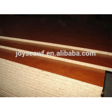 Papel de melamina 16x1220x2440MM cara / parte trasera aglomerado / tablero de partículas de Joy Sea