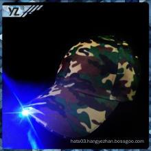 China manufacture cap/hat classics custom flashing LED light hat Fashion hats suppliers