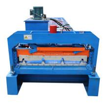 Máquina perfiladora de láminas de cubierta trapezoidal IBR