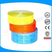 Várias cores de fita material prismático reflexivo da China