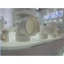 Sistema de agua plástico PVC accesorios codo 90 grados