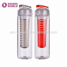 New Design Plastic Drinking Fruit Water Bottle With Infuser