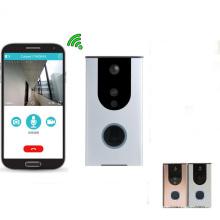 кольца WiFi видео дверной звонок дверь телефон Pro с батареей движения pir сигнализации Smart приложение