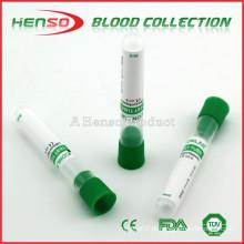 Tubo de heparina sem vácuo HENSO