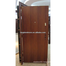 New Main Door Stainless Steel Door Flat Design KKD-001 For Strong Security